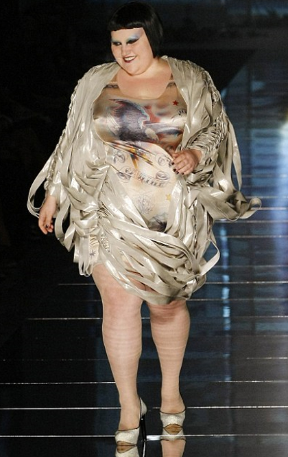 Anna Scholz Blog: Exclusively Plus Size Fashion News | Beth Ditto ...