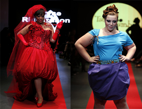 Anna Scholz Blog Exclusively Plus Size Fashion News Pulp Fashion Week Anna Scholz Blog Exclusively Plus Size Fashion News